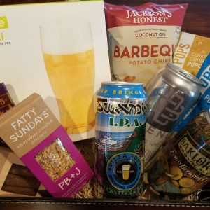 Bleu Market & Kitchen beer gift basket (taster)
