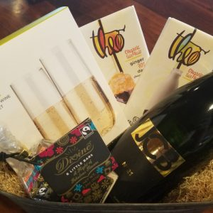 Bleu Market & Kitchen wine gift basket (tasting)